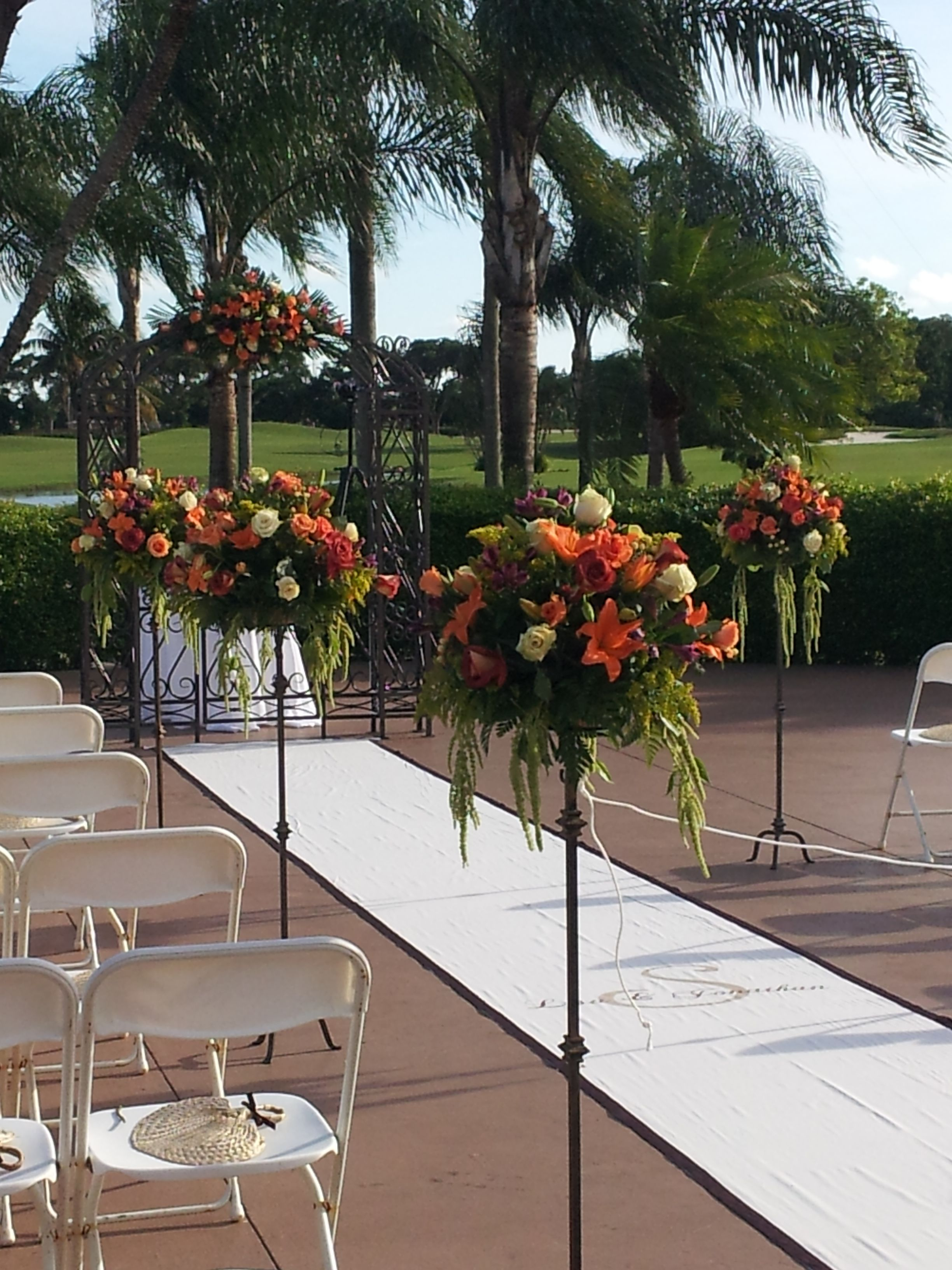 Zulu wedding decorations  Ceremony asile decor Save lots of  by urecyclingu aisle pieces for