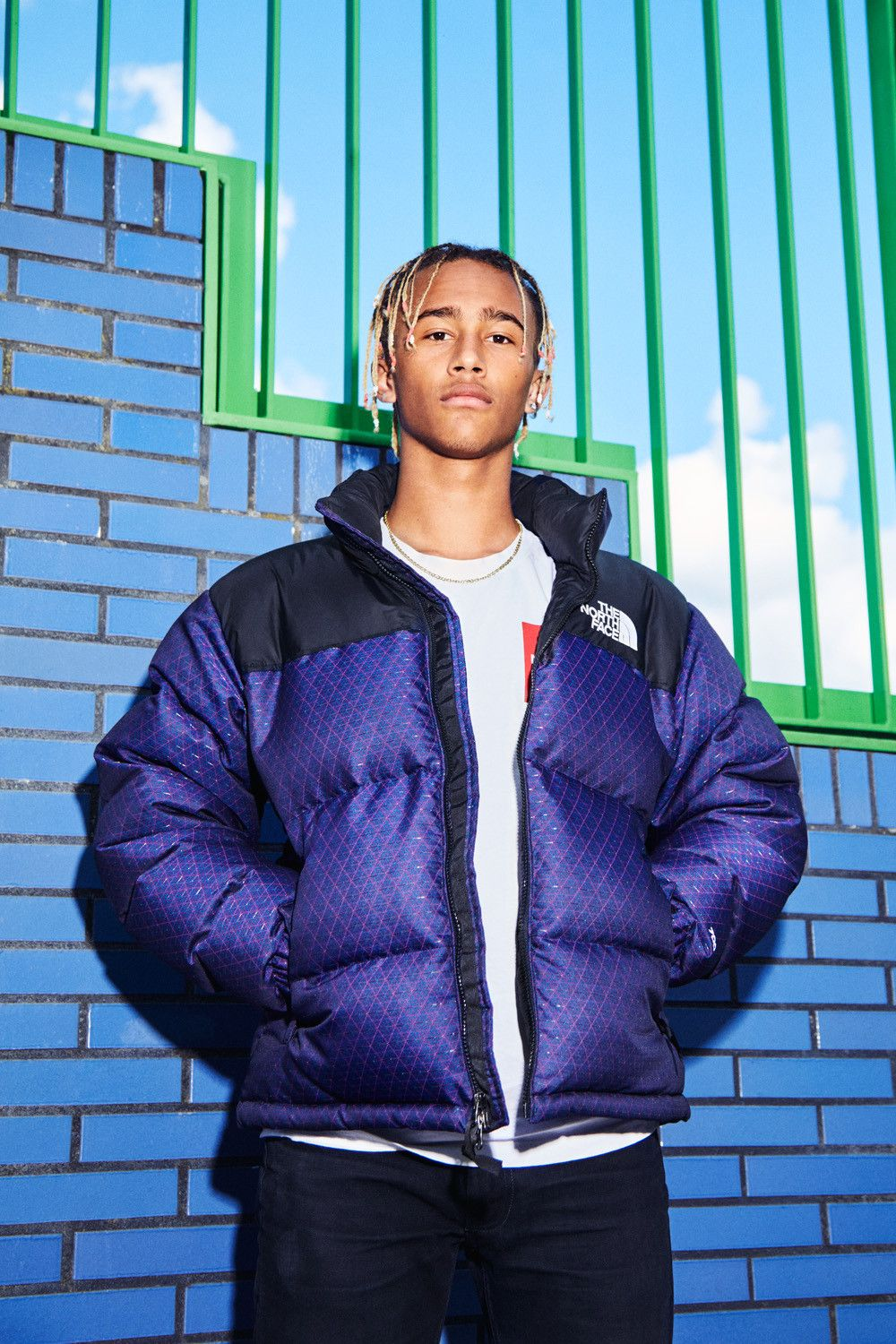 The North Face Drops A Cmyk Printing Process Inspired Capsule North Face Puffer Jacket Purple North Face Jacket North Face Nuptse Jacket [ 1500 x 1000 Pixel ]