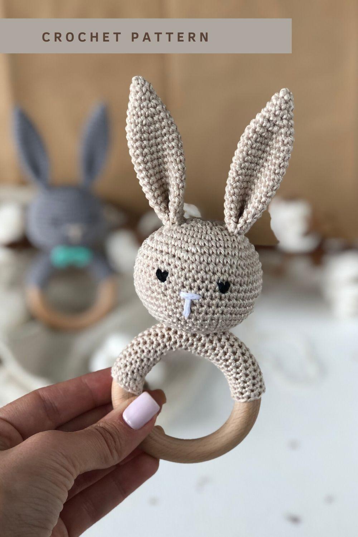 Amigurumi bunny in pajamas   Crochet bunny pattern, Crochet ...   1500x1000