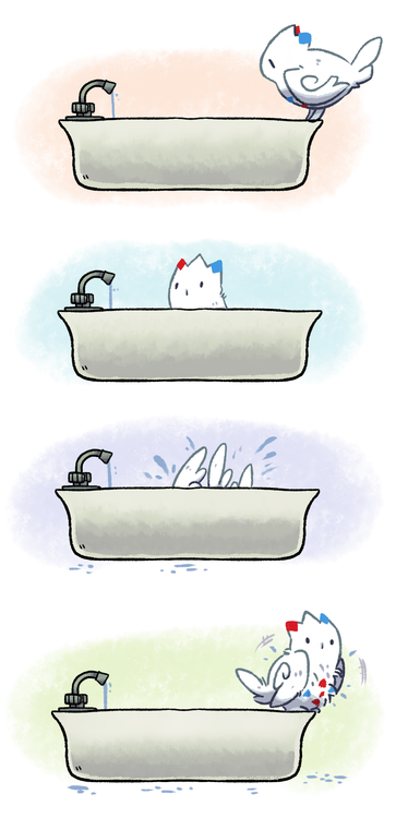 Togekiss Bath