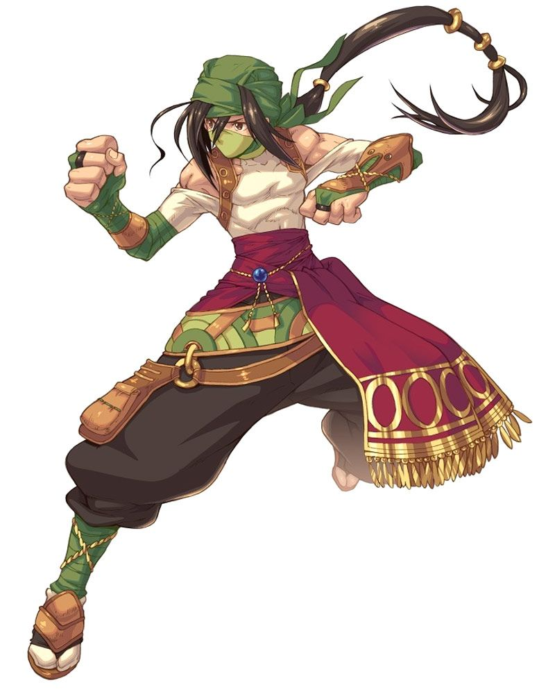 Geomancer Male from Wild Arms XF