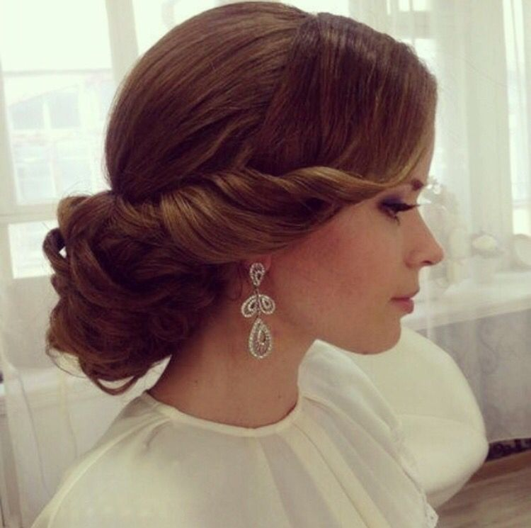 Elegant Wedding Hairstyles For Long Hair: Pin By Mileva Kulic On Frizz