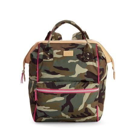 Ev1 From Ellen Degeneres Convertible Backpack Camo On Canvas