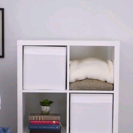 Clever Folding Hacks Video Organizacion De Armarios De Dormitorio Organizador De Ropa Interior Organizacion Del Dormitorio
