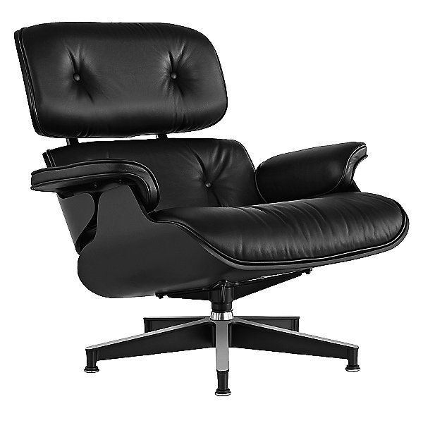 Herman Miller Eames Lounge Chair Ebony ES670EN1R10