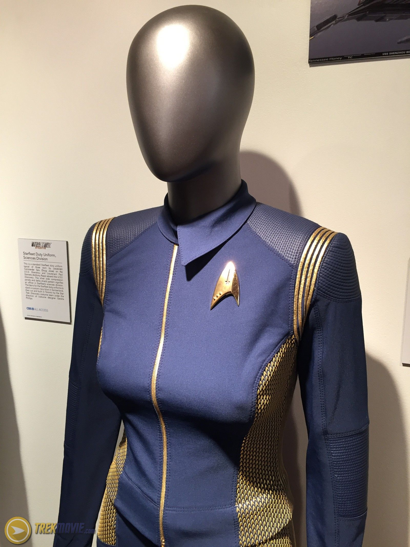 Star Trek Discovery Commander Uniform Cosplay Kostuum Cosplay Set