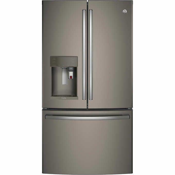 Ge Profile Series 278 Cuft French Door Refrigerator With Keurig K