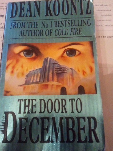 Dean Koontz The Door To December Paperback Book Books Book Humor Dean Koontz Books