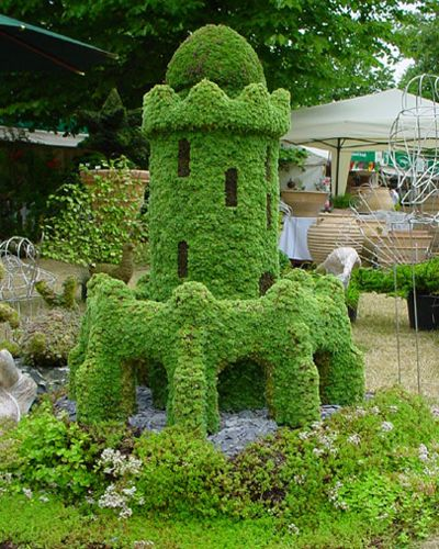 Arte y jardiner a dise o de jardines arte topiario for Jardin geometrico