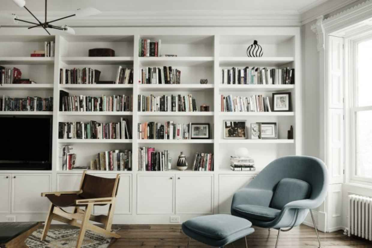 22 Examples Of Minimal Interior Design #31 | Bücherwand und ...