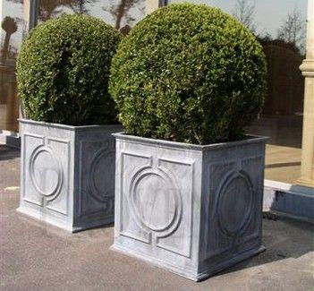 Metal Square Devon Garden Planter Square Planters