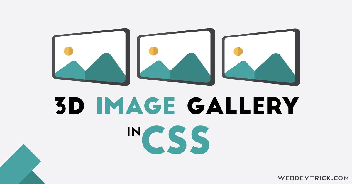 CSS Image Gallery | 629x1200