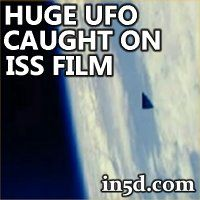 On January 23, 2013, a large triangle shaped UFO was captured on film by the International Space Station via images posted on NASA's website.