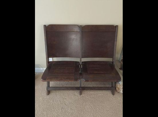 Vintage Auditorium Seating -- Vintage Chairs