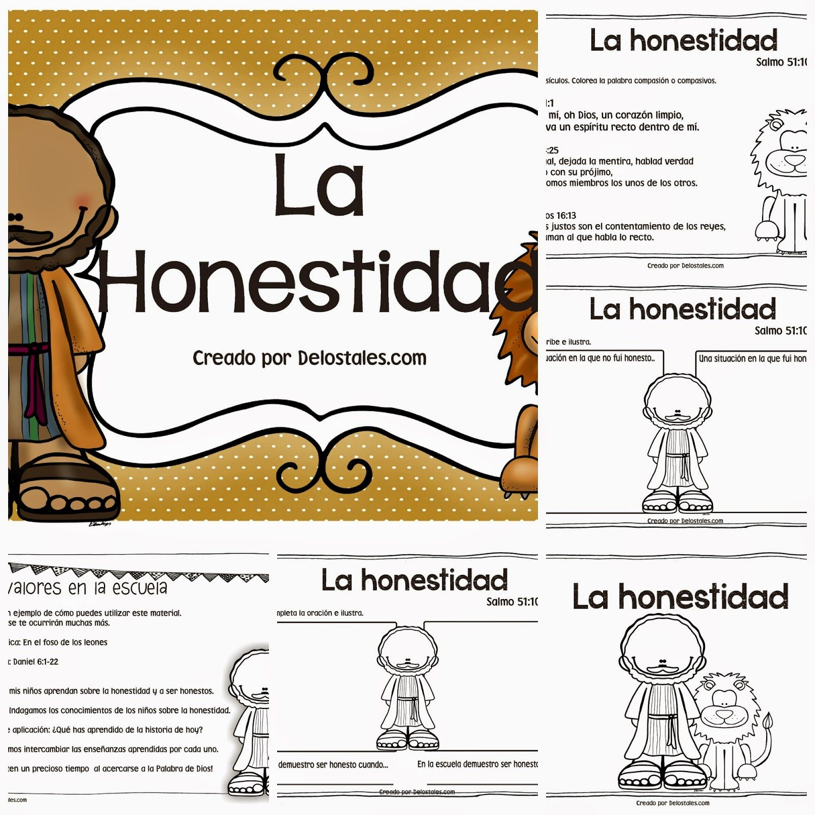 la+honestidad+pack+preview.jpg (1600×1600) | biblia | Pinterest ...