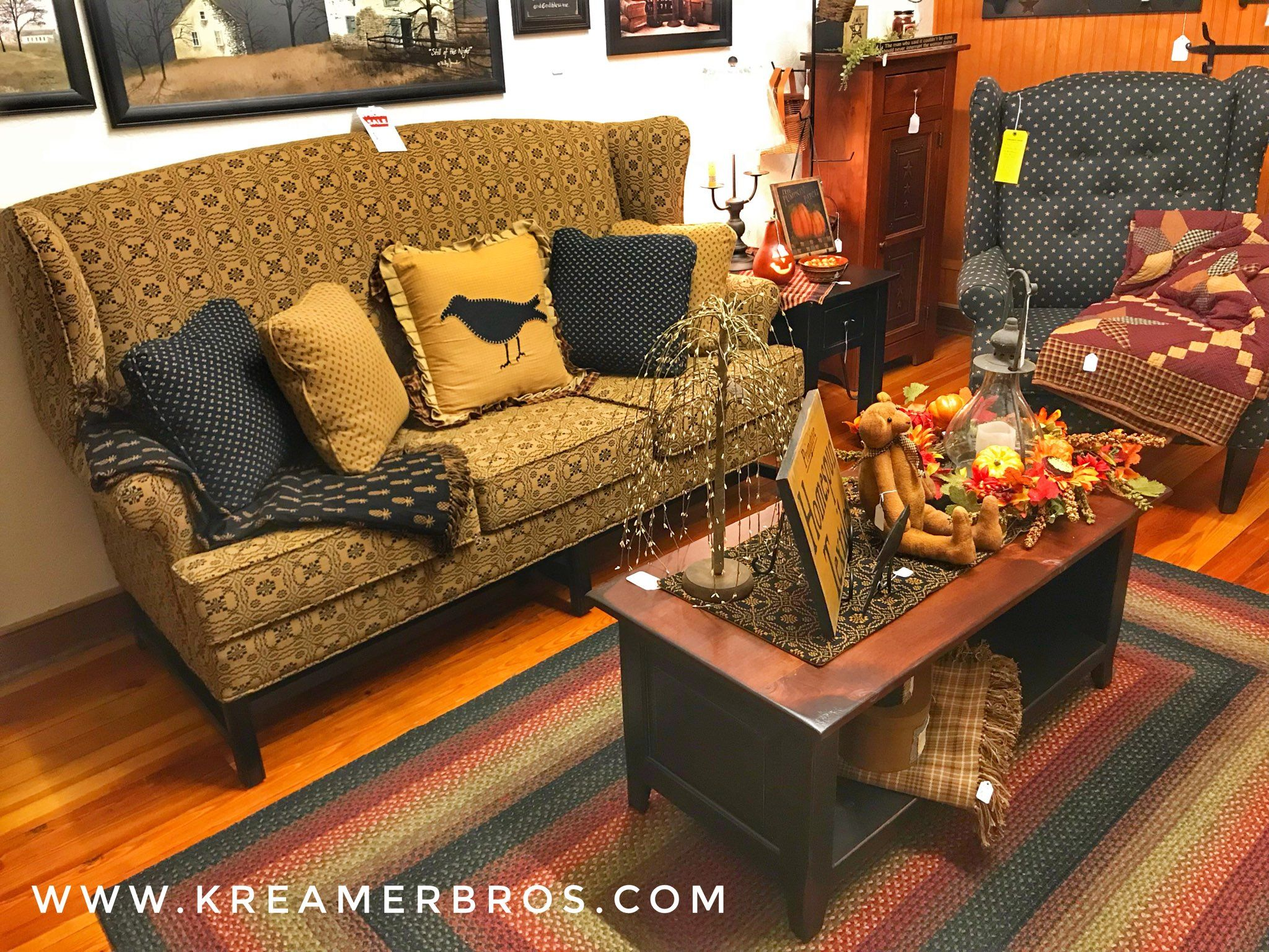 high back primitive country wing sofa with chippendale legs during rh pinterest com
