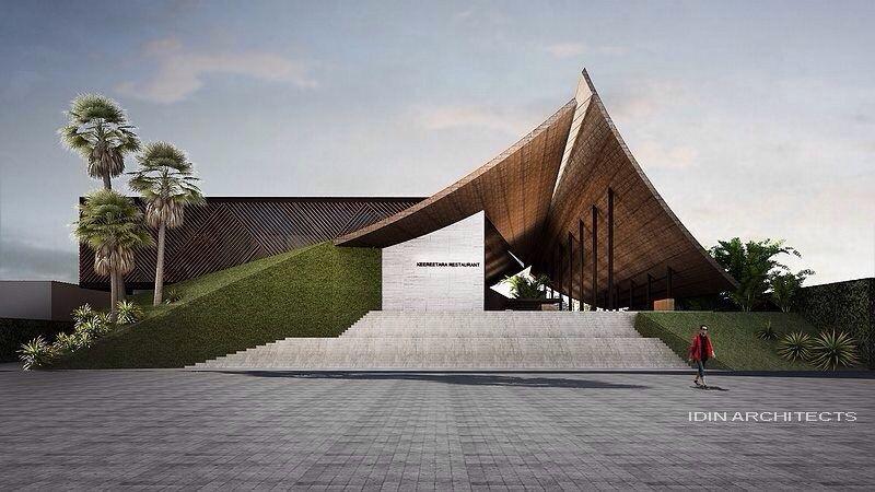 Modern thai architecture designed by idin architect for Thailand architecture