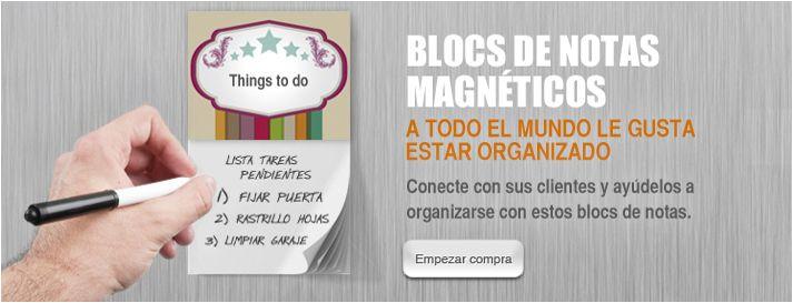 Conecte con sus clientes y ayúdelos a organizarse con estos blocs de notas