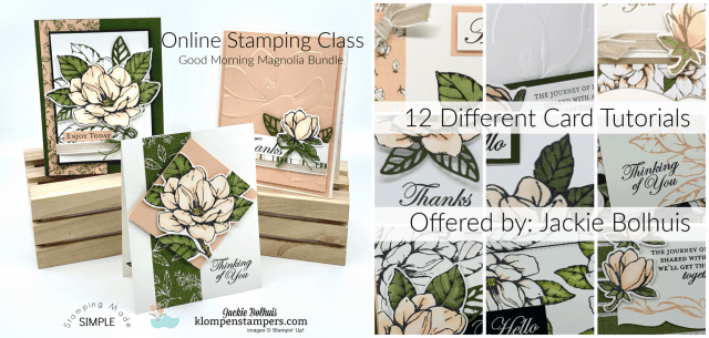 Need to Make A Quick Beautiful Handmade Card? #onlineclasses