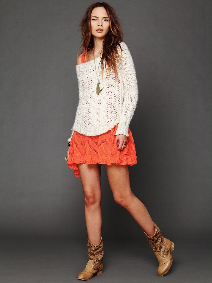 7e785fc016 A great way to wear your FP slips! http   www.freepeople