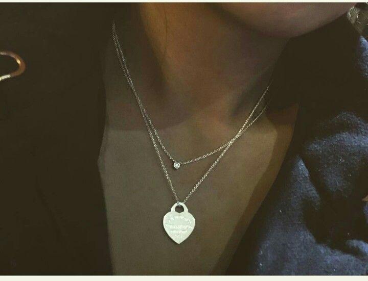 Yard's Tiffany Diamonds is overlaid with another necklace #other ... -  Yard's Tiffany Diamonds is overlaid with another necklace  #other #diamonds #one #a necklace # - #another #diamonds #jewelryposter #necklace #opaljewelry #other #overlaid #tiffany #tiffanyjewelry #Yard39s