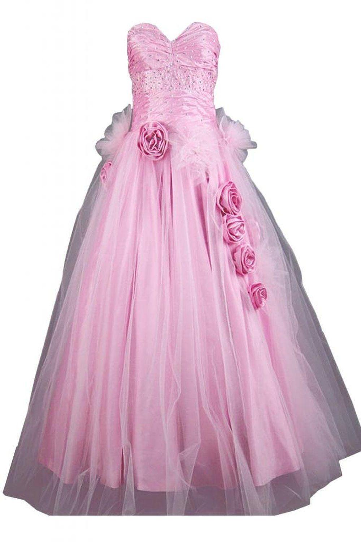 Sunvary Elegant Neu Herzform Lang Steine Abendkleid Ballkleider: Amazon.de: Bekleidung