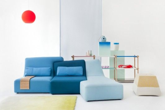 Confluences Sofa By Philippe Nigro For Ligne Roset Www.lignerosetsf.com  #LiveBeautifully
