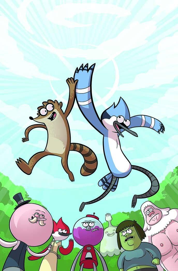 Regular Show 2 Cover By Mary Cagle Apenas Um Show Desenhos Animados Classicos Desenhos Cartoon Network