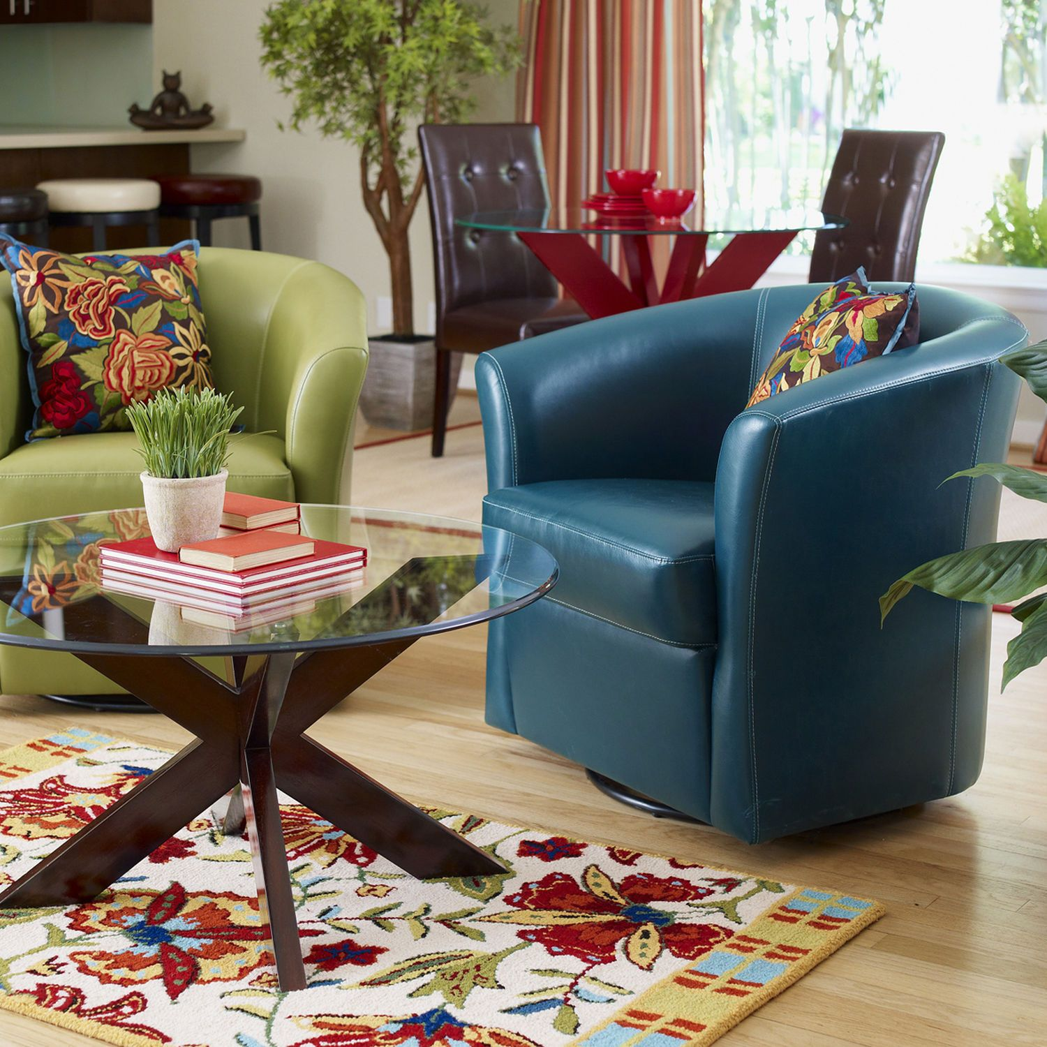 Fabulous Dig These Chairs Isaac Swivel Chair Teal Pier1 Us Ibusinesslaw Wood Chair Design Ideas Ibusinesslaworg