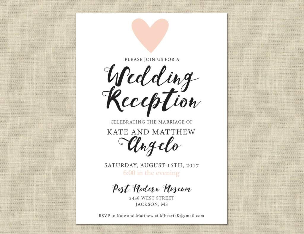 Image result for wedding invite wording casual Casual