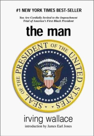 This book took place in the 1960's and due to a series of events and the law of succession, an African American becomes the President. The book deals with the hypocrisy and bigotry  he encounters as President.