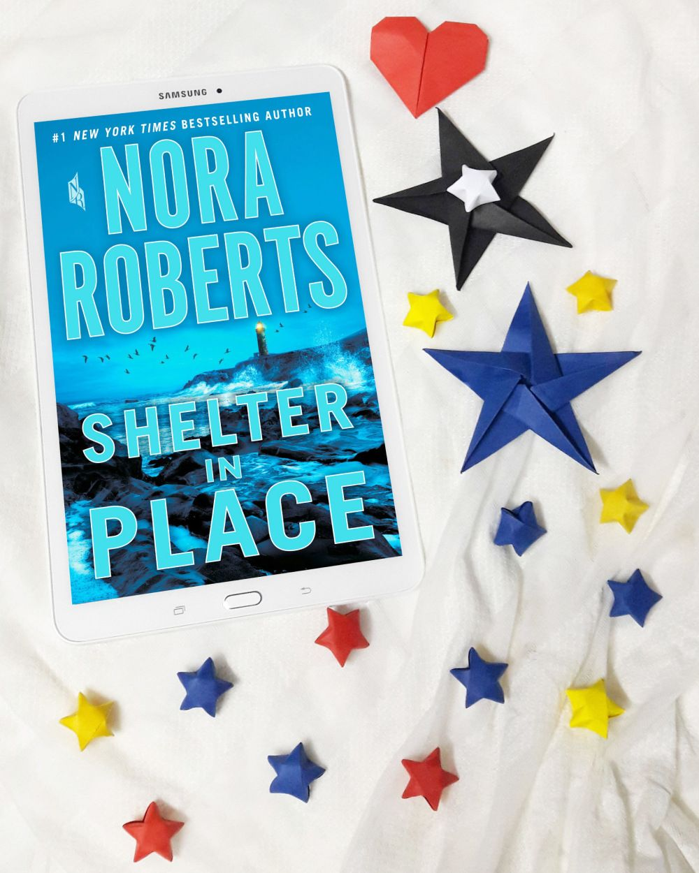 Book review shelter in place nora roberts nora