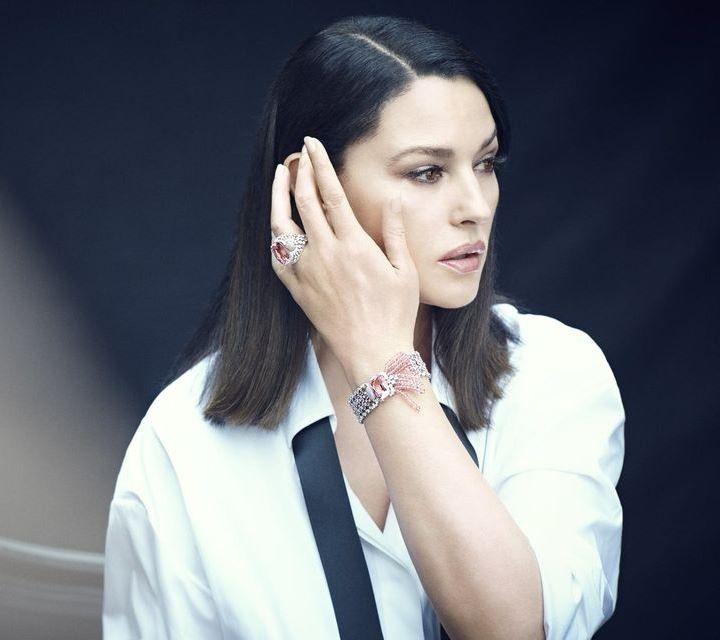Беллучи в украшениях Cartier для бразильского L'Officiel