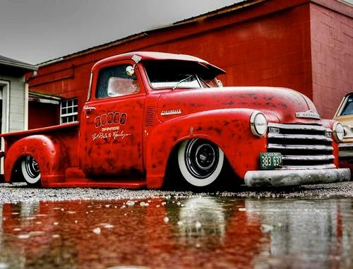 Hot Rod chevy truck