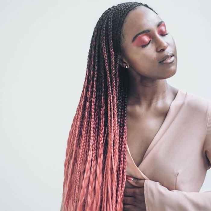 Tendance  30 Idées pour adopter la tresse africaine pour femme 2019 Tresse  Africaine Femme,