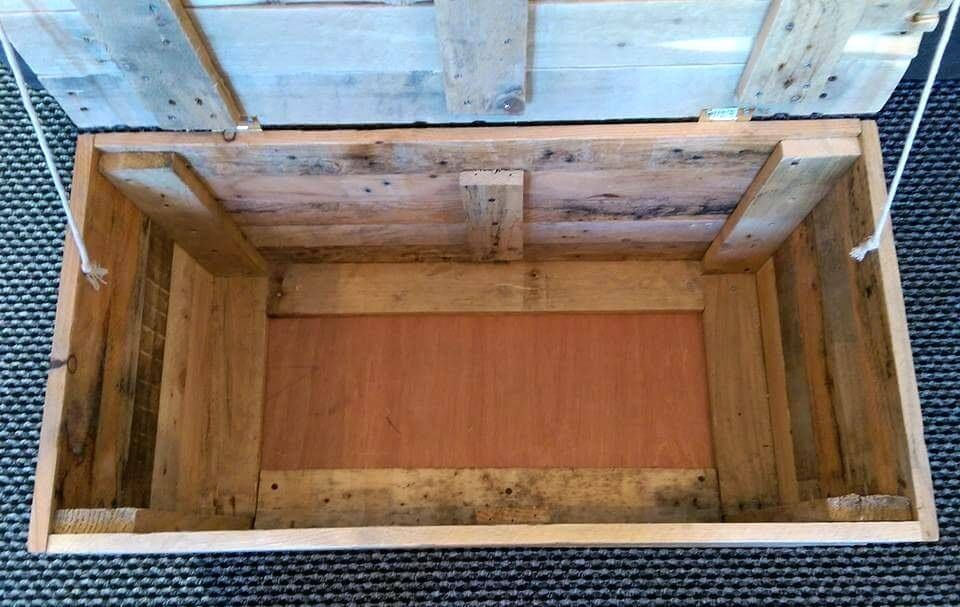 Diy wood pallet toy storage box toy storage boxes