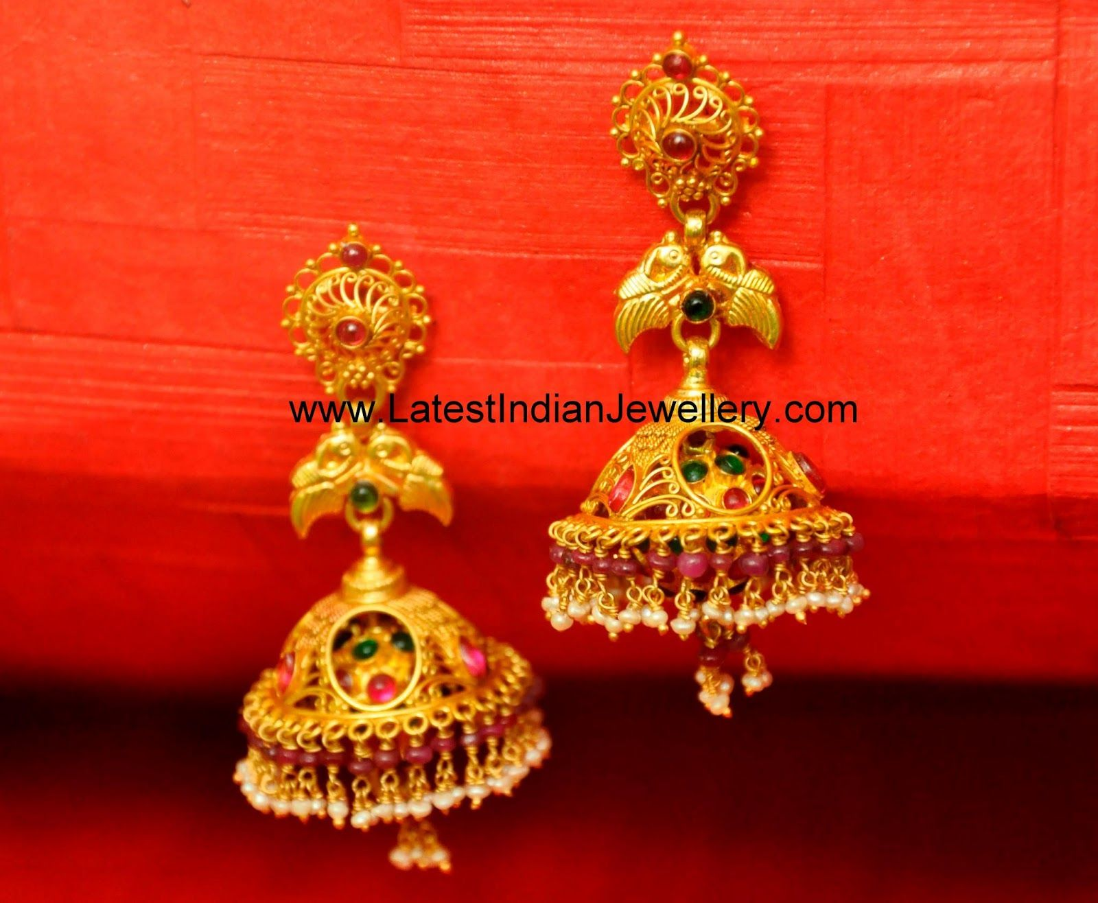 Gold · Latest Traditional Gold Jhumka Designs Collection  Latest Indian  Jewellery Designs