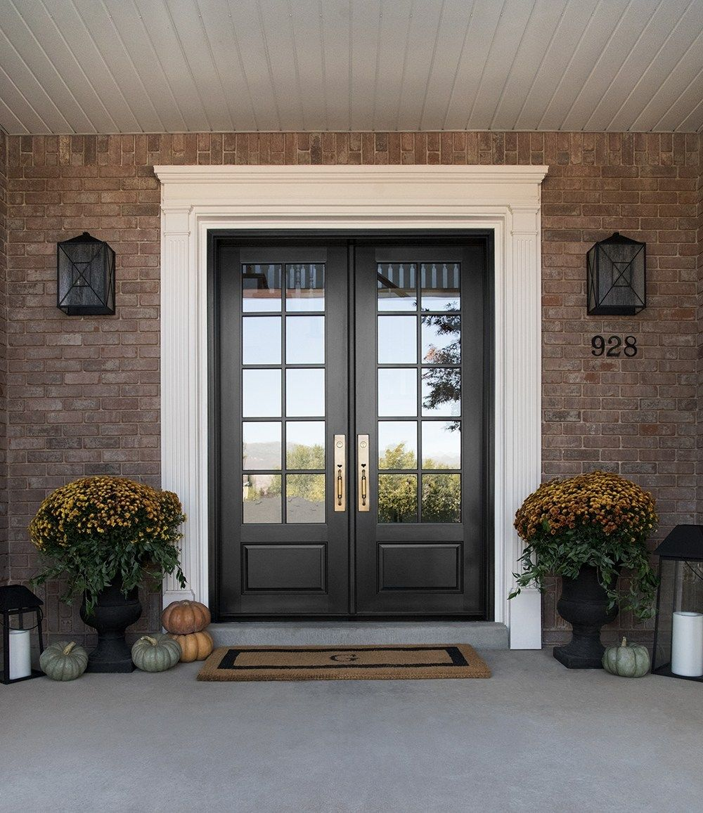Replacing the Front Door & Decorating for Fall Room for
