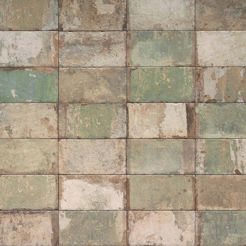 Carrelage Interieur Sol Et Mur Effet Terre Cuite 10x20 Mojito