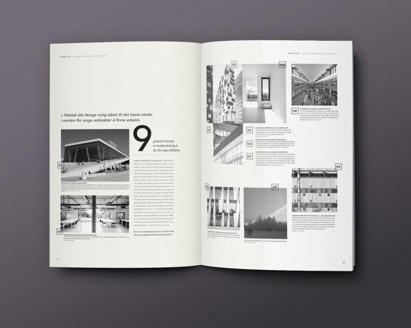 Arkitek Magazine on Editorial Design Served