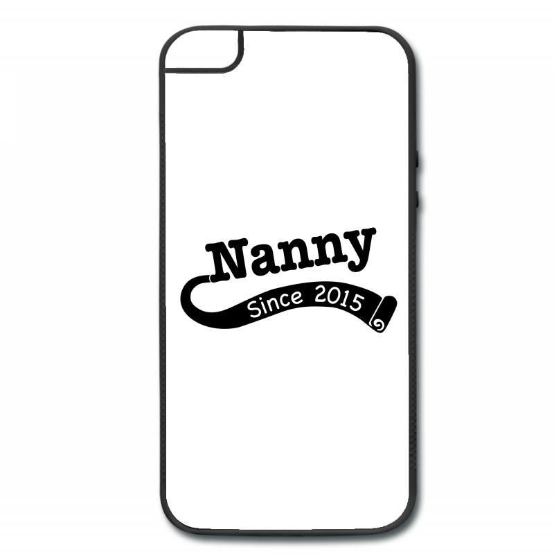 Nanny Since 2015 iPhone 5/5s Hard Case