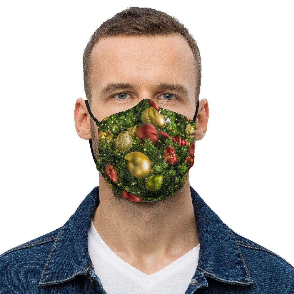 Ornament Face Mask | Christmas Tree Decoration Was