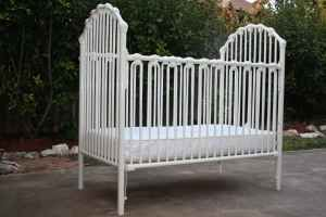Best White Metal Baby Crib I Have White Metal Crib That Is 640 x 480