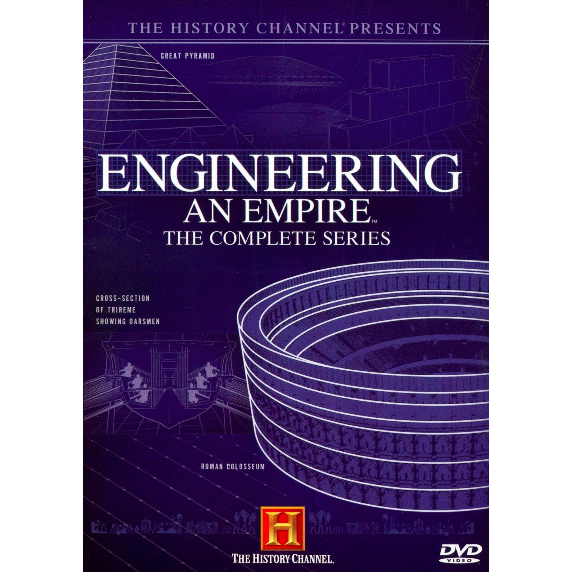 Engineering An Empire 6 Discs