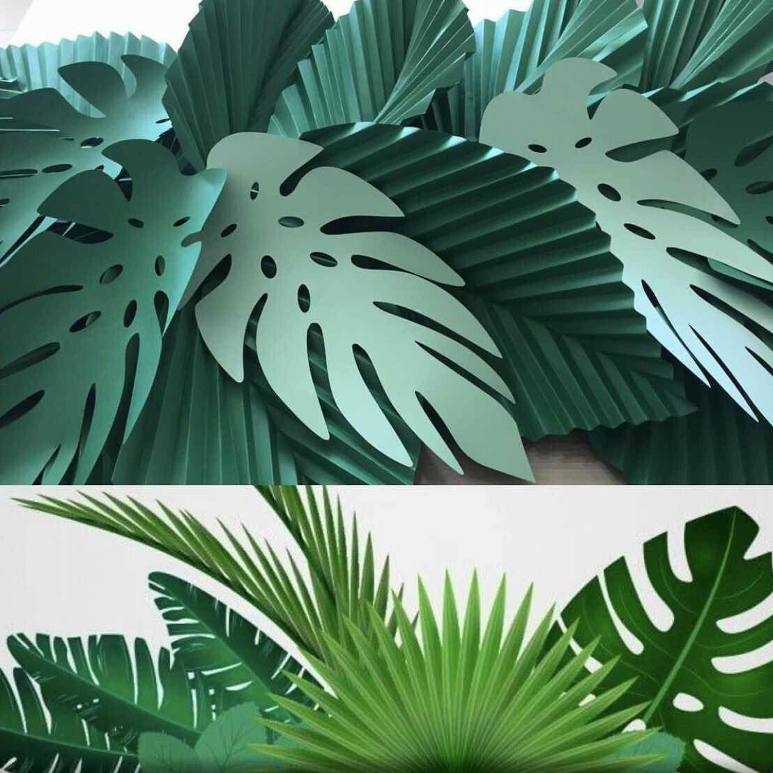 svg digital leaf template 5 cricut and silhouette ready