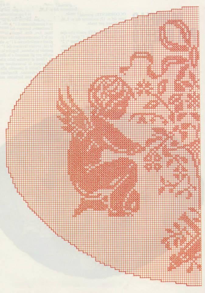 Crochet filet pattern (1/2)