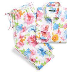 Floral Cotton Sleep Set - Lauren Petite Sleepwear & Robes - RalphLauren.com