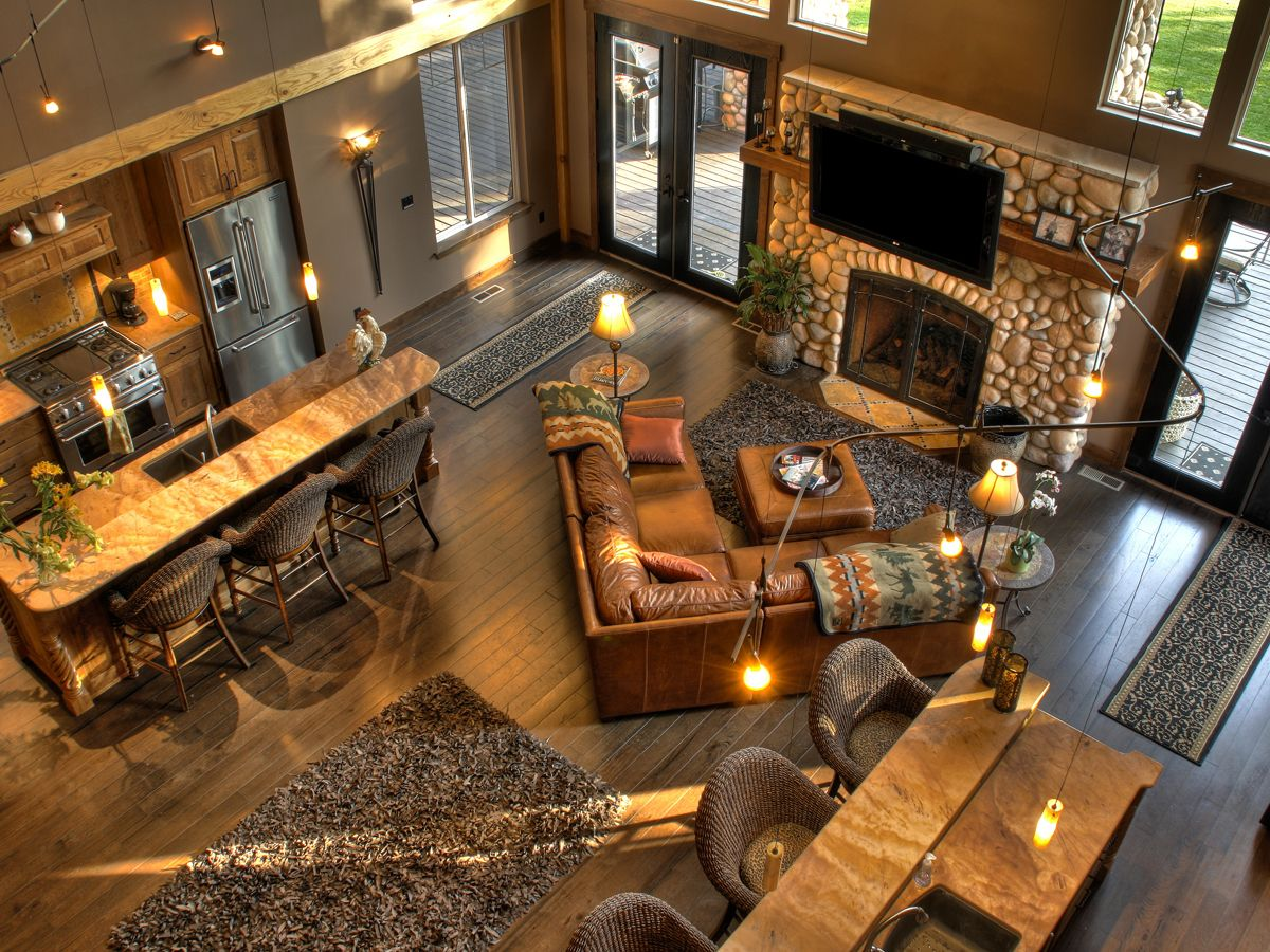 Rustic Lake House Decor....Love Everything About This