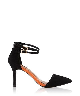 200204ddc4e Sierra black strappy sandal heels Sale - Miss KG Sale
