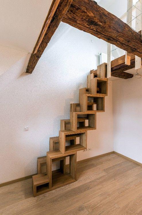 보통 아닌 계단디자인  멋진 계단인테리어 모음 : 네이버 포스트. TreppenKleines Haus ...